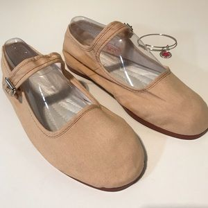 URBAN OUTFITTERS Nin Hao Pink Mary Jane Flats Sz 8
